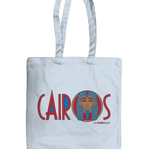 Cairos (Cairo Jax Nightclub) Sheffield Organic Tote Bag, Pastel Blue