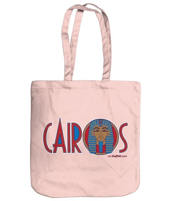 Cairos (Cairo Jax Nightclub) Sheffield Organic Tote Bag, Pastel Pink