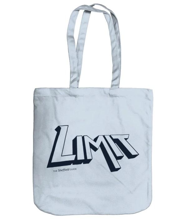 Limit Sheffield Organic Tote Bag, Pastel Blue