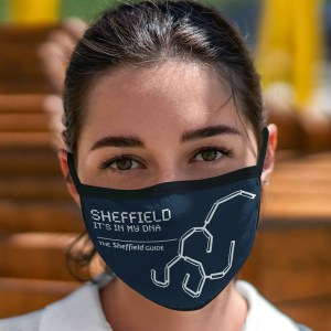 Sheffield DNA (Park Hill) Face Mask
