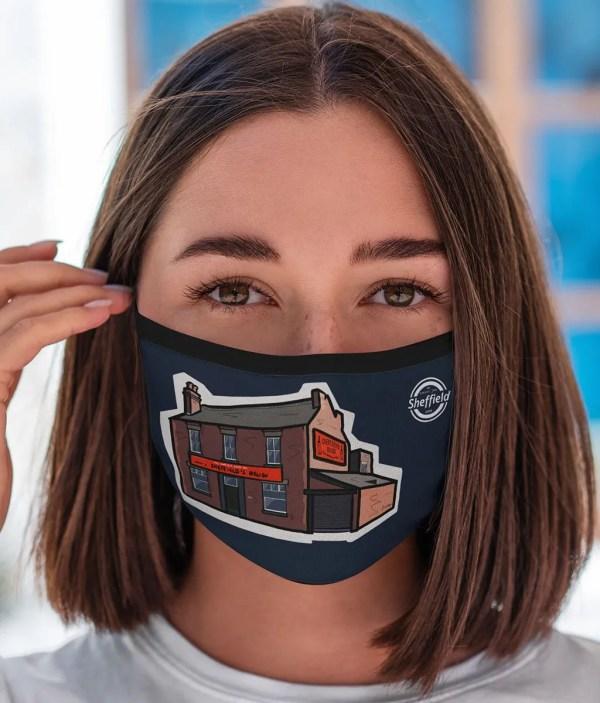 Sheffield's Relish Face Mask