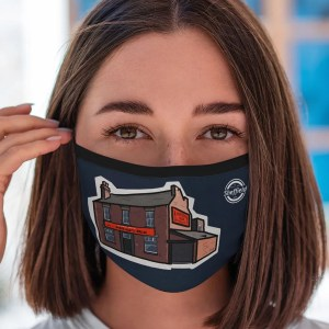 Sheffield's Relish Face Mask