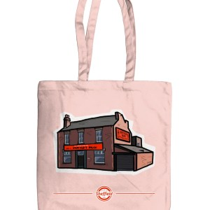 Sheffield's Relish Organic Tote Bag, Pastel Pink