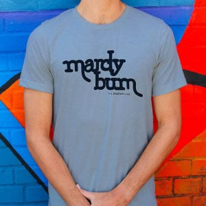 Mardy Bum (Arctic Monkeys) T-Shirt, Sky Blue