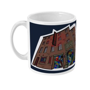 The Leadmill Sheffield Mug, Art by James