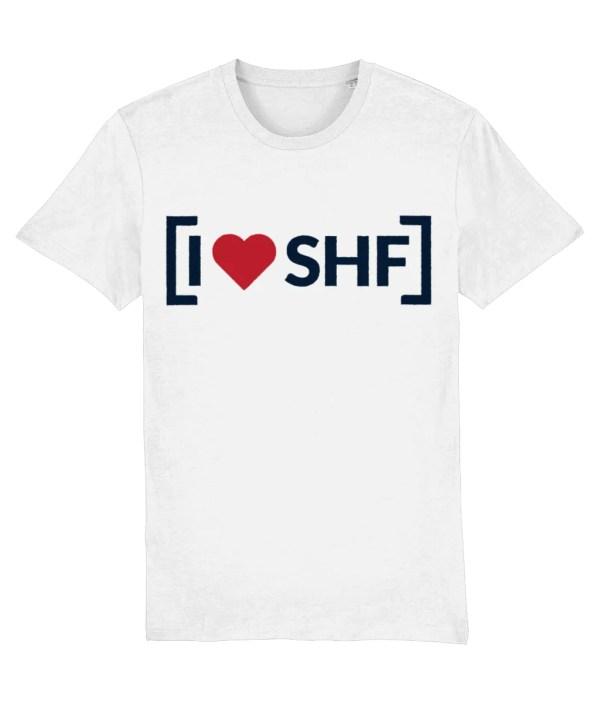 I LOVE SHEFFIELD [SHF] T-Shirt, White