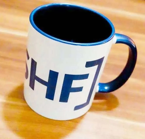 I LOVE SHEFFIELD Two-Tone Mugs [SHF], Cobalt Blue