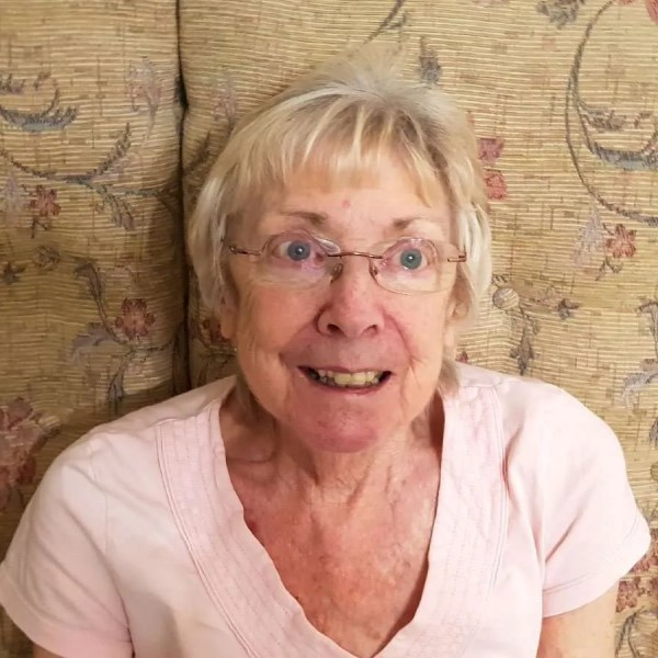 Mary Burrow - Sheffield care home resident. Courtesy of NHSCCG.