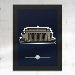 Sheffield City Hall Framed Print — Art by James