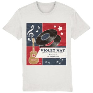 Violet May Sheffield T-Shirt, Vintage White