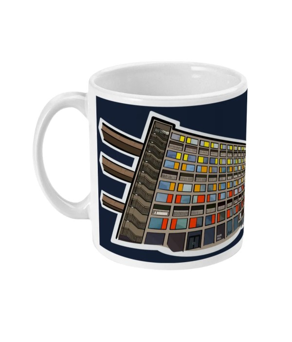 Park Hill Flats Sheffield Mug