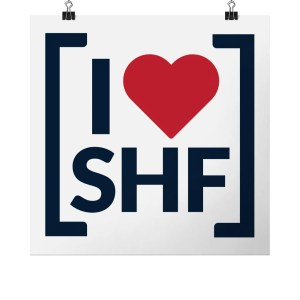 I LOVE SHEFFIELD [SHF] Art Print