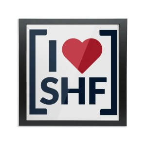I LOVE SHEFFIELD [SHF] Framed Art Print