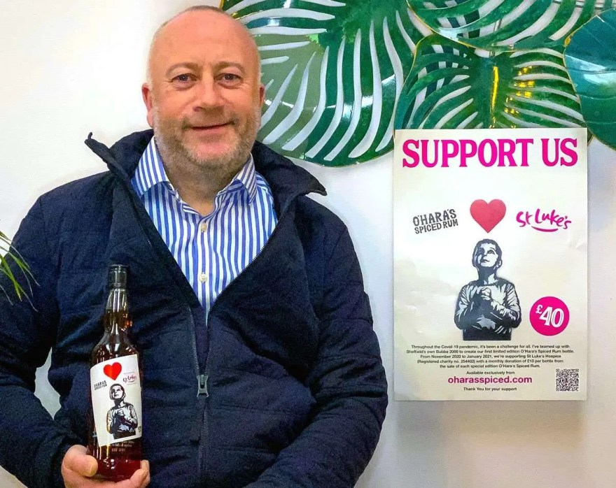 O'Hara's Spiced Rum in Support of St. Luke's Sheffield Hospice