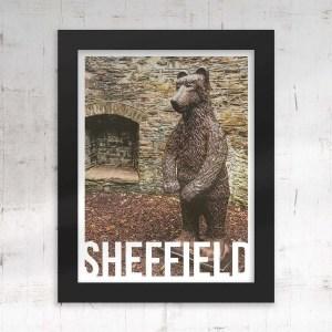 Bear Pit (Botanical Gardens) Sheffield Framed Print