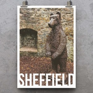 Bear Pit (Botanical Gardens) Sheffield Print