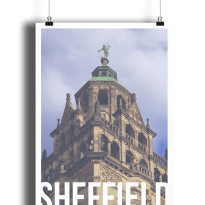 Vulcan Sheffield Destination Poster Print