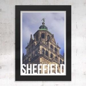 Vulcan Sheffield Framed Art Poster Print