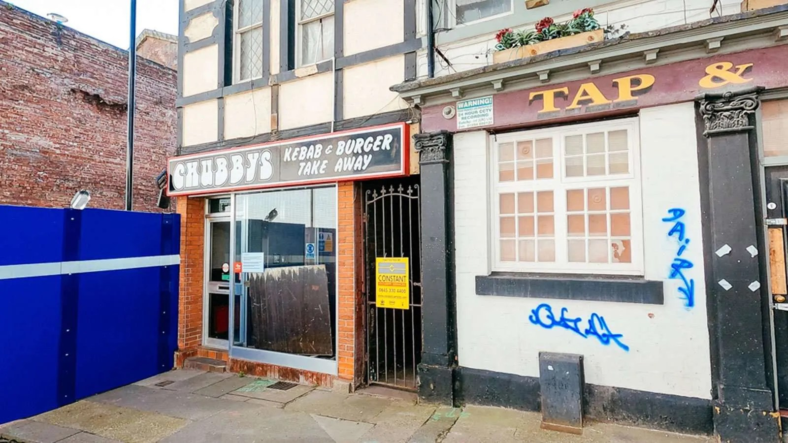 Chubbys old site, Cambridge Street
