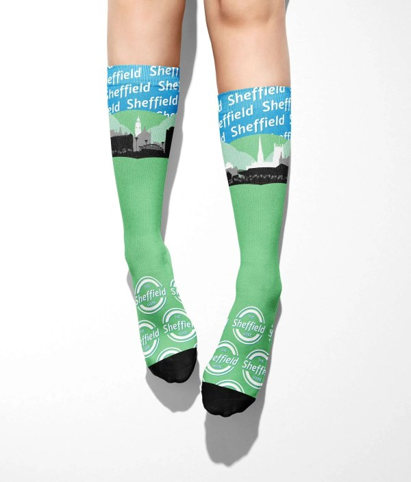 Sheffield Skyline Tube Socks (One Size)