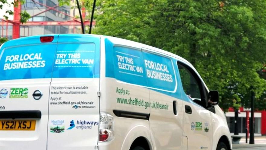 Sheffield City Council's Electric Van Trial.