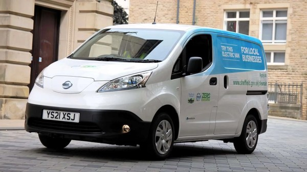 Sheffield City Council's Electric Van Trial