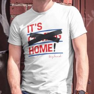 It's Home! England Euro Winners T-Shirt