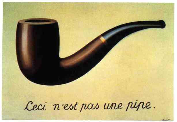 "Rene Magritte ""This is not a pipe"""
