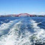 Kobe Harbour - photo by Chambered Nautilus