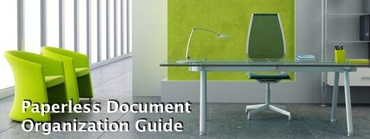 Paperless Document Organization Guide banner