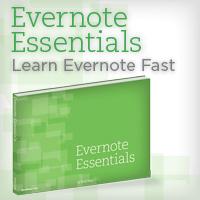 Evernote Essentials graphic and affiliate link