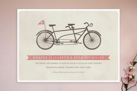 Design Wedding Invitations Online White Paper With Deep Pink Artworks Graphic Formal Fonts Designer