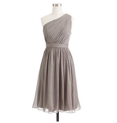 David s Bridal Strapless Crinkle Chiffon Dress with Mikado Sash Donna Morgan One Shoulder Chiffon Dress   178