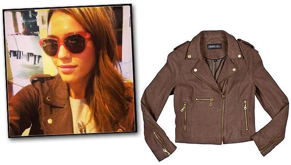 jessica alba leather jacket members