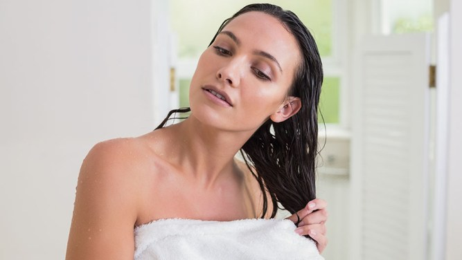 Image result for female in just towels