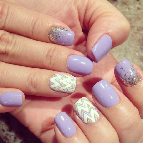30 Cool Gel Nail Designs Pictures 2018 SheIdeas