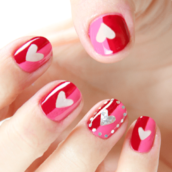 Nail Art Ideas And Designs For Valentine S Day 2017 Patterns