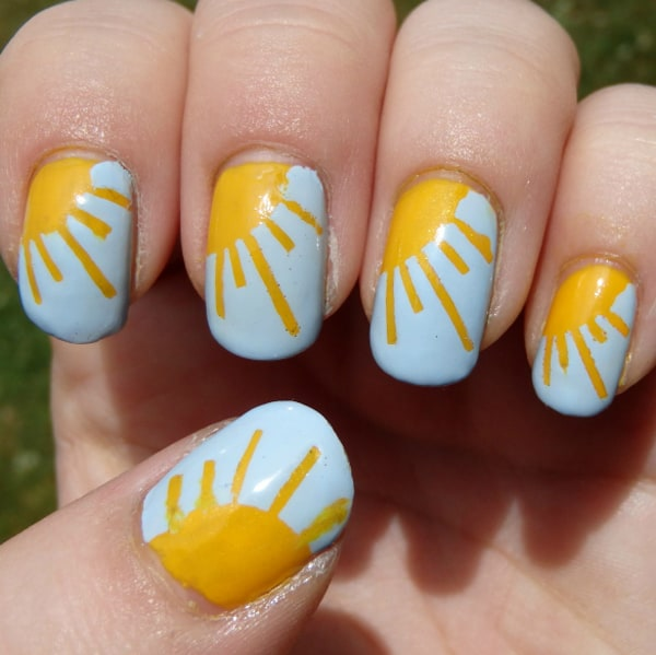 15 Cute Summer Toe Nail Designs 2016 SheIdeas