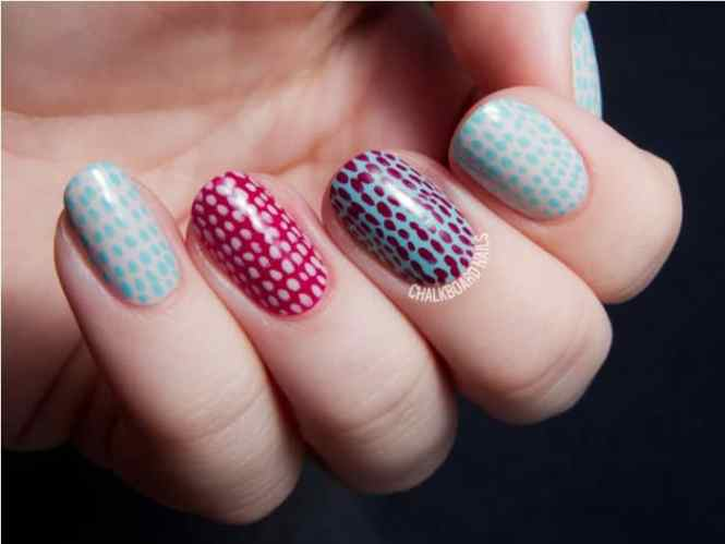 Easy Nail Polish Design Ideas Fingernail Cool