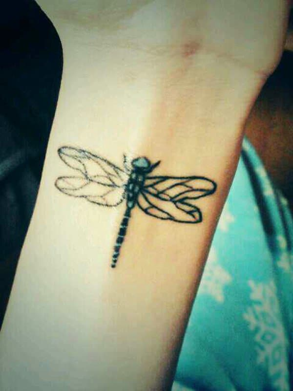 Foot Dragonfly Tattoos Your