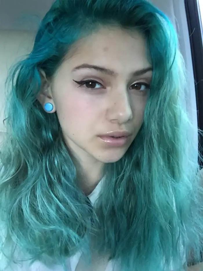 22 Cute Dyed Hairstyles Ideas For Ladies SheIdeas