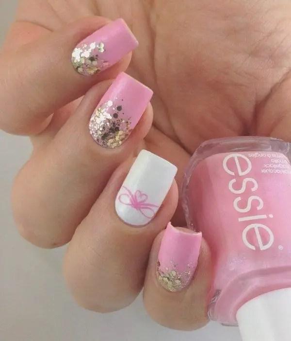 A List Of Cute Wedding Nail Designs SheIdeas