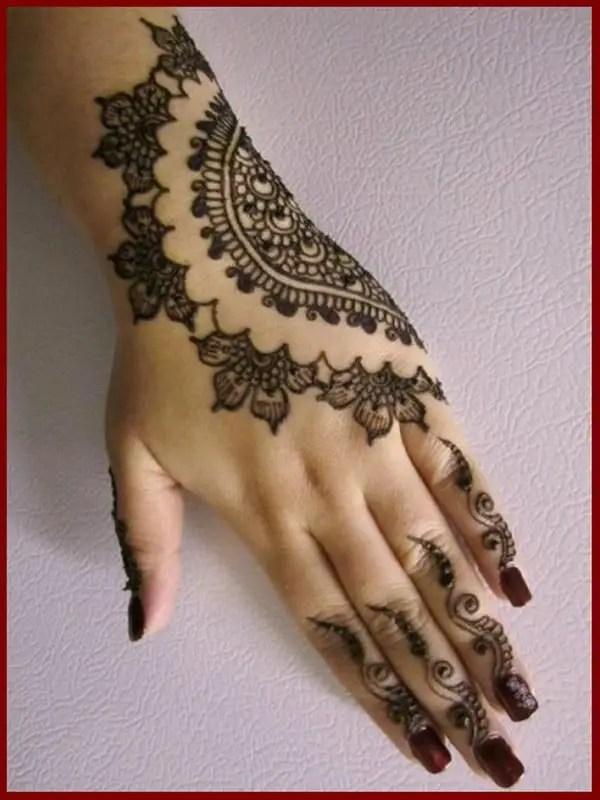 A Roundup Of Latest Pakistani Henna Designs 2017 SheIdeas