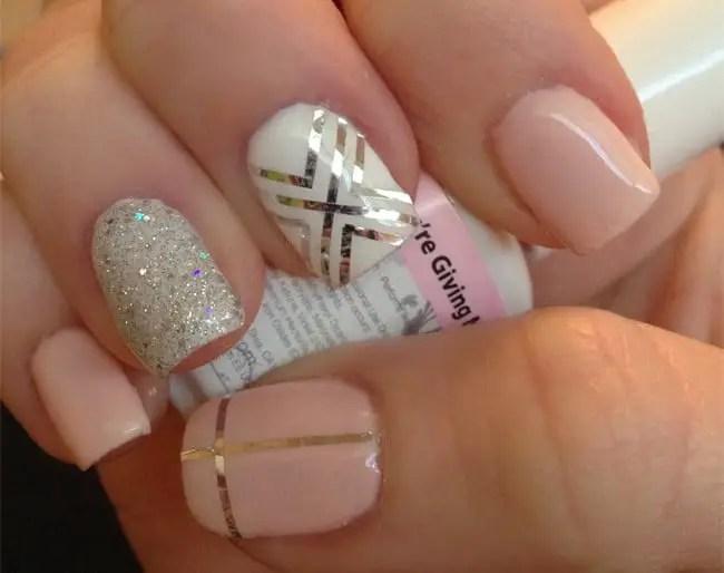 Amazing Sac Nail Designs With Rhinestones