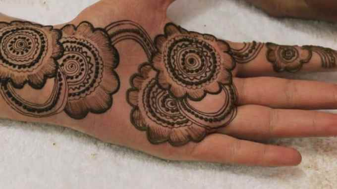 15 Inspirational Henna Hand Tattoos for Women – SheIdeas