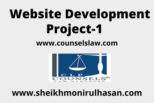 Website Development Project-1