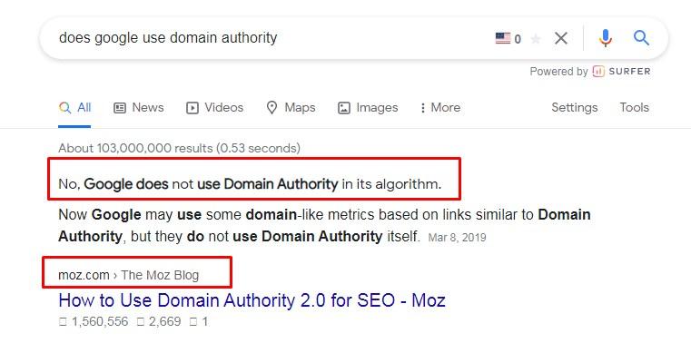 does-google-use-domain-authority