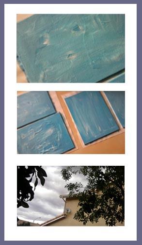 Canvas panels preparation