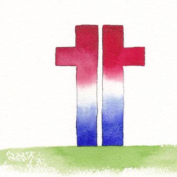 Remembering those who were lost. Watercolor, pen on Arches 140 lb. cold pressed paper. © Sheila Delgado 2013