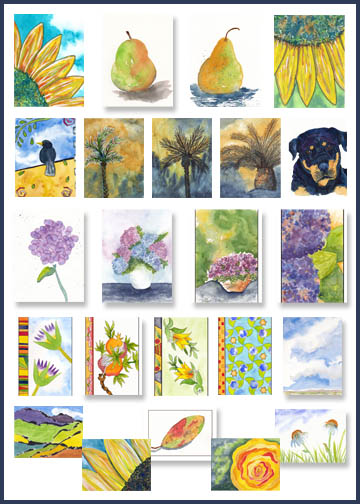Postcard Art Available Now at Sheila's Corner on Zazzle.